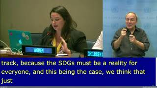 Lucia Berro's intervention at the VNR 8, HLPF 2017:  UN Web TV - http://webtv.un.org