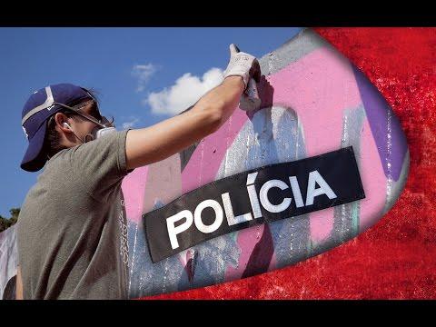 GRAFFITI FREESTYLE - POLICE PROBLEMS ?
