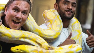 BROTHER NATURE MEETS A GIANT 20 FOOT SNAKE!! | BRIAN BARCZYK by Brian Barczyk