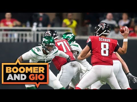 Video: The Jets' first preseason win against the Falcons! | Boomer & Gio