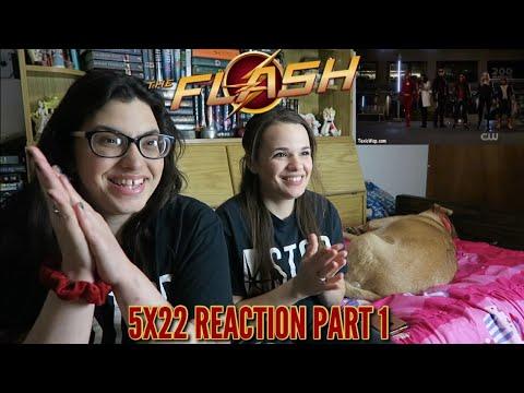 "THE FLASH 5X22 ""LEGACY"" REACTION PART 1"