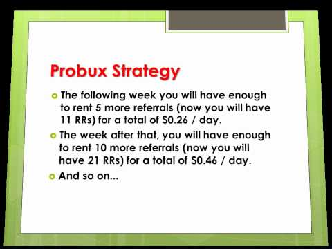 How to Make Money Online with Probux