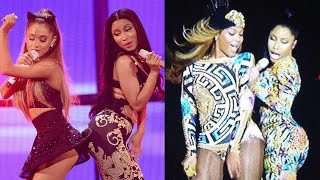 Nicki Minaj Songs With Ariana Grande & Beyonce Leak!