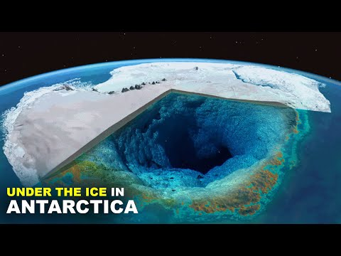 What's under the ice in Antartica