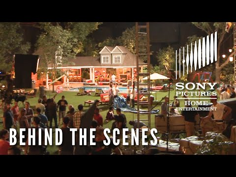Behind The Scenes: Creating The Feder House From Grown Ups 2 (2013)