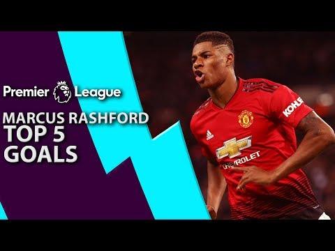 Video: Marcus Rashford's top 5 goals for Manchester United | Premier League | NBC Sports