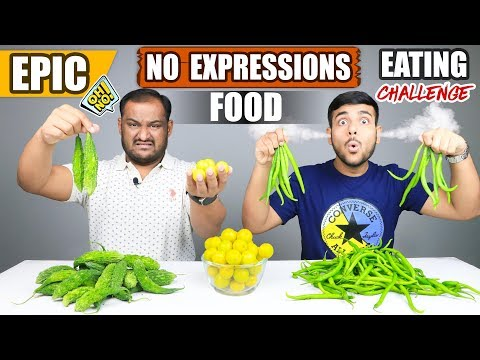 EPIC NO EXPRESSIONS FOOD EATING CHALLENGE | Lemon Challenge | Eating Competition | Food Challenge