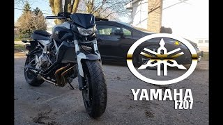 10. I GOT A NEW YAMAHA FZ07
