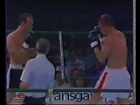 Magne Havnås World Campion match in boxing,17. of may 1990 (видео)