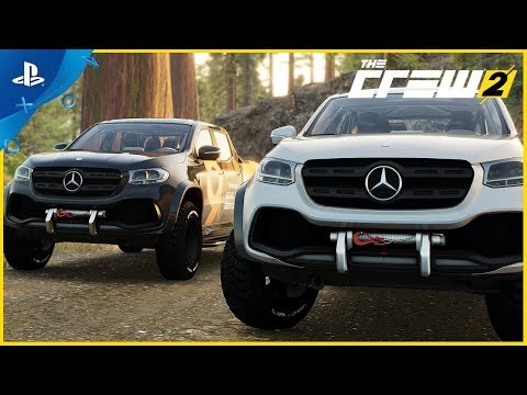 The Crew 2 - Mercedes X Class: Motorsports Vehicle Series #5 | PS4 de The Crew 2