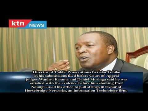 Why former CBK Governor Njuguna Ndung'u may be jailed before end of next year