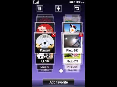LG KM 900 ARENA (celular 3D)