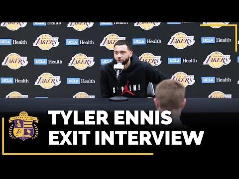 Video: Lakers Exit Interviews 2018: Tyler Ennis