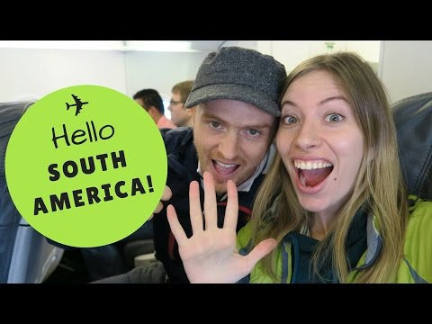 VIDEO: We're going to South America!