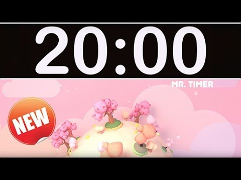 Video 20 Minute Timer with Music for Kids, Children, Classroom! download in MP3, 3GP, MP4, WEBM, AVI, FLV January 2017