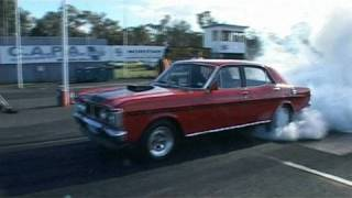 Heathcote Australia  city photos : Awesome XY Falcon at Heathcote Ford Forum Drag Day