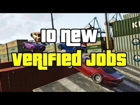 "GTA 5 Online Newest Rockstar Verified Jobs (GTA V) ""GTA Online Jobs"""