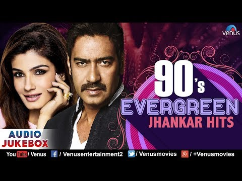 Video 90's Evergreen Jhankar Hits | Bollywood Romantic Songs | JUKEBOX | Hindi Love Songs download in MP3, 3GP, MP4, WEBM, AVI, FLV January 2017