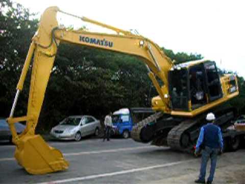 KOMATSU  PC200-8  Excavator in Taiwan 84.( Bagger コベルコ ショベル)