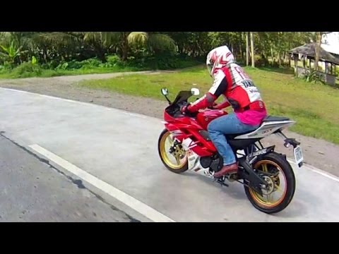 Yamaha YZF R15 topspeed  version 2 ( 100% all stock motorcycle bike )