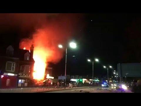 Έξι τραυματίες από έκρηξη στο Λέστερ