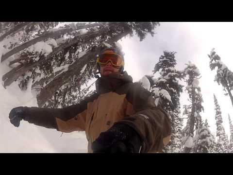 DIY GoPro pole mount in action! (видео)