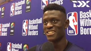 Amar Sylla: 2019 Basketball Without Borders Interview by DraftExpress