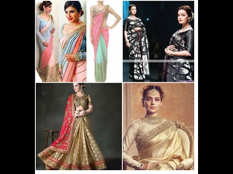 Latest Winter Sarees Collections 2017