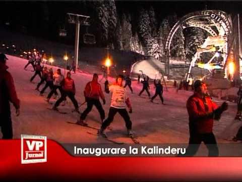 Inaugurare la Kalinderu