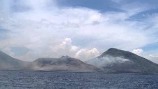 Mount Tavurvur Volcano Eruption Papua New Guinea 2014 (Extended Version)