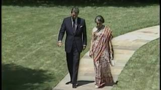 Video Prime Minister Gandhi of India State Visit, Arrival Ceremony, Meetings on July 29, 1982 MP3, 3GP, MP4, WEBM, AVI, FLV September 2018