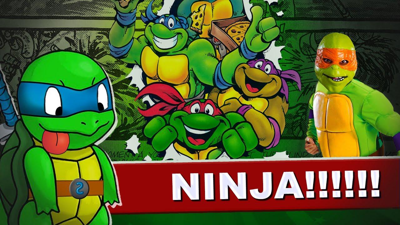 9 coisas loucas sobre as Tartarugas Ninja