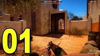 Battlefield 1 Multiplayer - Part 1 - CONQUEST! (Beta Gameplay)