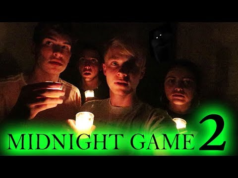 THE MIDNIGHT GAME // 3 AM CHALLENGE (he's back) (видео)