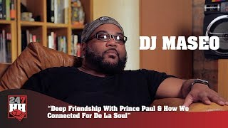 DJ Maseo - Deep Friendship With Prince Paul & How We Connected For De La Soul (247HH Exclusive)