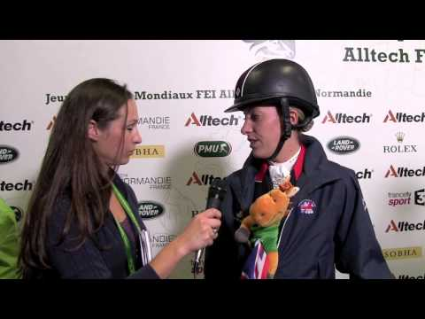 WEG dressage grand prix: Charlotte Dujardin talks to H&H [VIDEO]