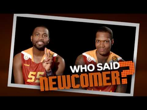 Who said newcomer? Justin Dentmon and Deon Thompson, Galatasaray Odeabank Istanbul