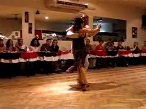 milonga - Show at a milonga in Buenos Aires; amazing dancing by Dani Garcia and Luna Palacios. If you wish to see the rest of the dance, it is in my list of videos: