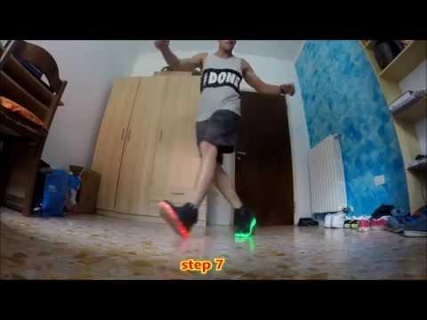 TUTORIAL cutting shapes | shuffle | house shuffle | step 1 to step 10