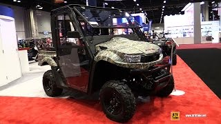 1. 2017 Kymco UXV 700i Camo Utility ATV - Walkaround - 2016 AIMExpo Orlando