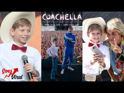 Yodeling Walmart Kid Burns Coachella With a Big Performance W/ Justine Bieber & More!