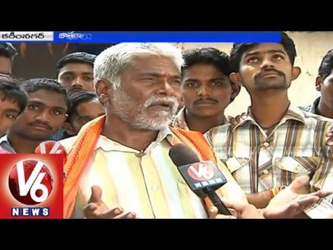 Telangana Survey  Nomadic people gets united in Cherlapally village Karimnagar  V6 Special Story
