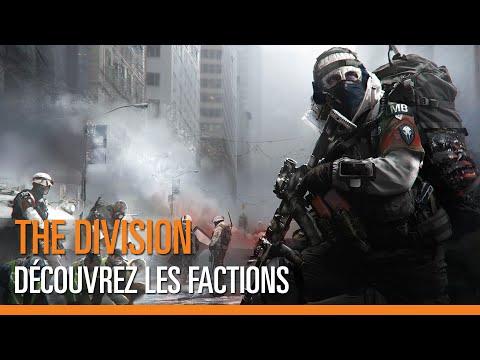 The Division : vidéo des factions ennemies