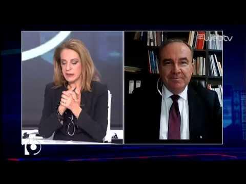 Ο υφυπουργός Ανάπτυξης και επενδύσεων Νίκος Παπαθανάσης στο «10» | 17/03/2020 | ΕΡΤ