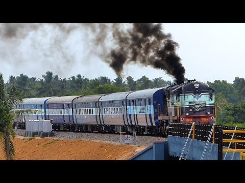 SPEED TRIAL Bangalore - Mysore Doubling : Indian Railways EXCLUSIVE