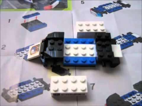 Vidéo LEGO Racers 8301 : Le bolide de la police