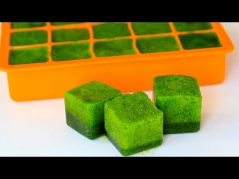 How-To Make Spinach Pops (For Smoothies & Protein Shakes)