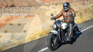 5. 2016 Indian Scout Sixty First Ride - MotoUSA