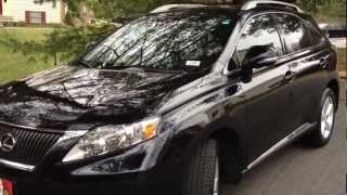 2010 Lexus RX350 Review, Walk Around, Start Up&Rev, Test Drive