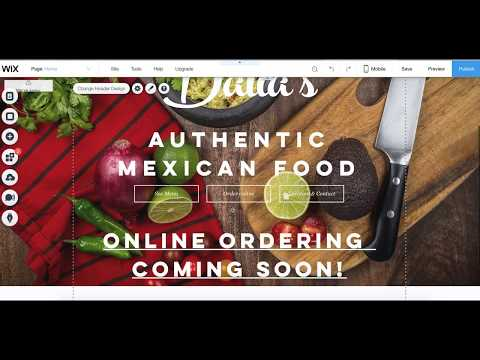 How connect Wix to Smart Online Order